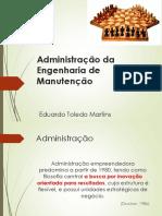 Administração Da Engenharia de Manutenção