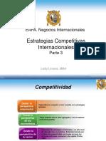 Estrategias Competitivas Parte 3