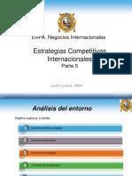 Estrategias Competitivas Parte 5