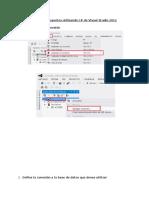 Diseño de Reportes- Visual Studio 2012