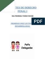 Derecho Penal- Resumen Pepa