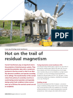 CT Analyzer Hot on the Trail of Residual Magnetism 2010 Issue2