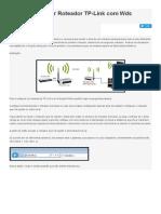 Como Configurar Roteador TP-Link Com Wds Repetidor