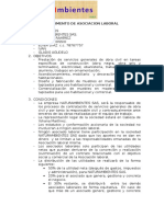 Estatutos Asociacion Laboral-NATURAMBIENTES SAS