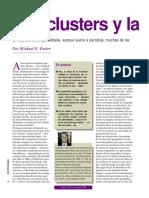 Los Clusters y La Competencia