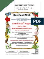 Bowthorpe News July 2016