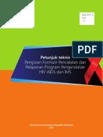 Buku Petunjuk Teknis Pengisian Formulir Pencatatan dan Pelaporan Program Pengendalian HIV-AIDS dan IMS.pdf