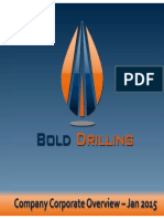BOLD Drilling Corporate Presentation 201501