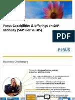 SAP Mobility - Porus