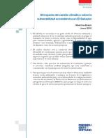El Impacto Del CC Sobre La Vulnerabilidad Ecosistémica en ES - Erazo 2016