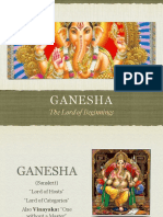 Teachings of the Hindu Gods 03 Ganesha, Lord of Beginnings