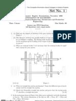 Rr310304 Kinematics of Machinery
