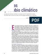 Plantas y Cambio Climatico