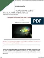 A Quebra de Paradigmas Como Exercício Para Liberdade (BVA)