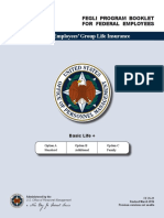 FEGLI Program Booklet for Federal Employees