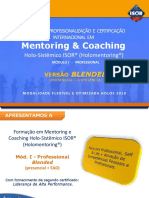 Formacao Professional Em Mentoring e Coaching vs Blended
