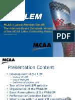 WebLEM Seminar