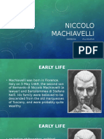 Niccolo Machiavelli