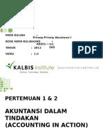 Prinsip-Prinsip Akuntansi I