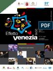 Effetto Venezia 2016 Il programma