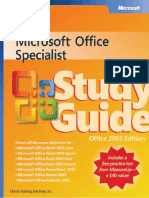 Microsoft Office Specialist Study Guide - Office 2003 edition.pdf