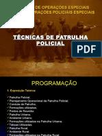 Palestra Patrulhas Policiais Força