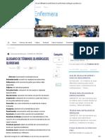 Glosario de Términos Quirúrgicos Quirofano _ El Blog de La Enfermera