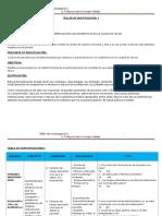 Mi Tabla de Especificaciones - METODOLOGÍA DE LA INVESTIGACIÓN