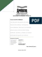 Proyecto Granipol Descripcion de La Patente