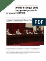 Establecen Doctrina Jurisprudencial en El Caso Gregorio Santos