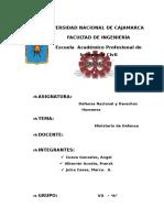 Ministerio de Defensa- Fndh
