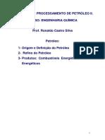 Química & Processamento de Petróleo
