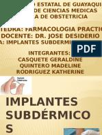 Implantes Subdérmicos Enemas