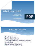SOLS10001 6b 2015 NAKATA Law and Society - What is a Child (SN)