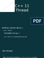 c++11 thread spd