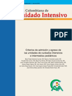 Criterios de Ingreso a Uci e Intermedios Pediatrica