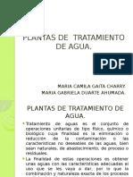 Plantas de Tratamiento de Agua