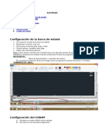Comandos y Configuraciones (AUTOCAD)