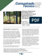 Sistemas Silvipastoris Estratégias Para o Desenvolvimento Rural Sustentável Para a Metade Sul Do Estado Do Rio Grande Do Sul