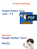 Present Perfect - Already Yet