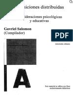 Salomon - Cogniciones Distribuidas