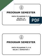 Promes Ktsp Semester 2