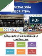 1.2 Mineralogía Descriptiva