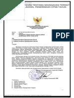 Surat Menteri PANRB Tentang Sanggahan Terkait Dengan Adanya Jadwal Penerimaan CPNS Tahun 2016