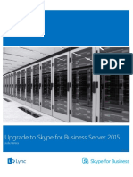 Upgrade to Skype for Business 2015 Step by Step eBook