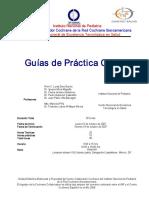 Programa Del Curso-taller Para La Elaboración de Guías Prácticas Clínicas INP