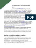 Sistem Informasi Dan Manfaat Bagi Perusahaan