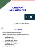Transport Management Training