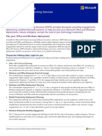 Desktop Deployment Planning Services Customer Datasheet