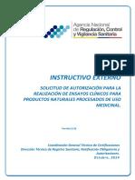 IE D.1.2 EC 02 Ensayos Clínicos Productos Naturales Opt